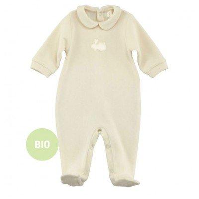 Délicat pyjama en coton bio pour bébé - Puérinature